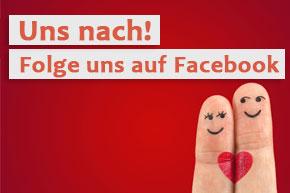 Werde Fan von Partnersucheplus auf Facebook